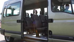 Mini bus service for outings and excursions